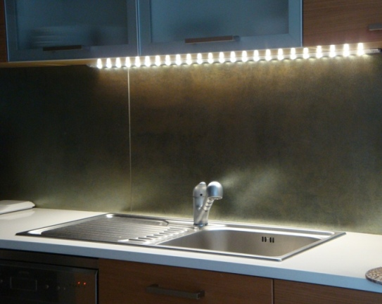 Stunning Strisce Led Per Cucina Photos - Ideas & Design 2017 ...