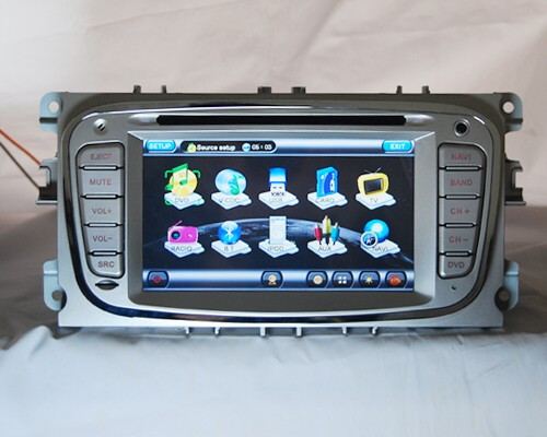 autoradio 6 2 pollici ford focus mondeo s max 2007 navigatore gps dvd usb sd 6218f. Black Bedroom Furniture Sets. Home Design Ideas