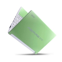 "NETBOOK ACER ASPIRE ONE AOHAPPY-N55DQgrgr25BT Verde 10ᄌ1"" Atom  N550 1GB 250GB 1ᄌ3Mpx BT W7S + Android"
