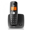 TELEFONO PHILIPS CORDLESS XL3701B/23 Tasti XL retroilluminati 100 Nominativi in Rubrica Black