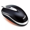 "MOUSE GENIUS ""Mini Traveler"" USBᄌ x NBᄌ Black"