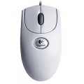 MOUSE LOGITECH OPTICAL MOUSE PS2/USB RX250 WHITE 910-000185 oem