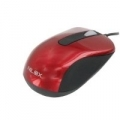 MINI MOUSE NILOX USB 2.0 Ottico 1000dpi con rotella luminosa rossaᄌ RED
