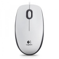"MOUSE LOGITECH ""M100 Optical Mouse WHITE USB - 910-001603"