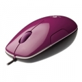 "MOUSE LOGITECH ""LS1 Laser Mouse "" (Berry) - USB - 910-001161"