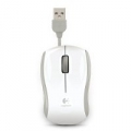"MOUSE LOGITECH ""Corded Mouse M125"" - Ideale per NBᄌ USB Retrattile White - 910-001837"