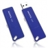 FLASH DRIVE ADATA USB 2.0 8GB - AC003-8G-RBL- Blue (USB Retraibile)