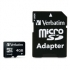 SD-MICROSDHC VERBATIM 4GB incl. Adapter Class 4