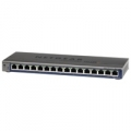 SWITCH NETGEAR FS116E-100PES 16P LAN 10/100M UNMANAGED PLUS DESKTOP Management via web semplificato x la configurazione di VLAN