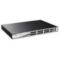 SWITCH D-LINK DES-1210-28P 24P LAN 10/100M Power over Ethernet Smart Switch + 2 Combo 1000 BaseT/SFP + 2 Gigabit
