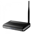 ROUTER ASUS ADSL2+ DSL-N10 150M 802.11n ACCESS POINT SWITCH 4P LAN IP Zone (x4 SSID) NAT Firewall integrato 1 x 5dBi powerful