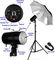 FLASH STUDIO COMPLETO CY100KIT 100WS POTENZA VARIABILE