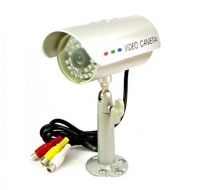 Telecamera 30 led infrarossi tenuta stagna audio video CMOS