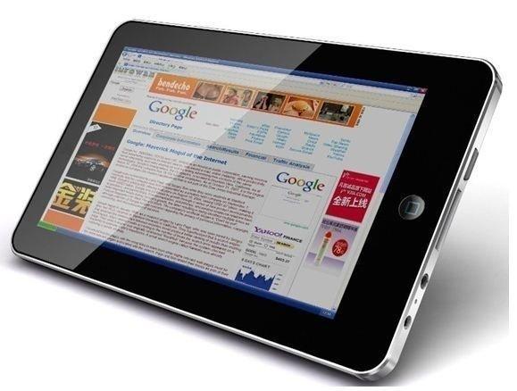 "TABLET PC 7"" ANDROID DI GOOGLE MINI NOTEBOOK WIFI MP3 1000 FUNZIONI"