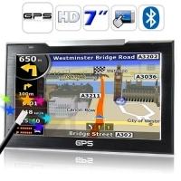 Navigatore satellitare gps 7'' touch bluetooth mp4 mp3