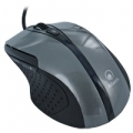 "MOUSE ATLANTIS ""SURFER 600"" USBᄌ ottico 5 tastiᄌ bottone switch 800/1600 dpiᄌ Grigio"