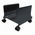 CARRELLO PORTA PC NILOX in Metalloᄌ  Rotelle Bloccabiliᄌ Nero