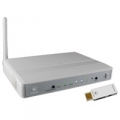 ROUTER ATLANTIS A02-WSN3 150M 802.11n/g/b ACCESS POINTᄌ MODEM ADSL2+ 4 porte Fast Ethernet + WIRELESS USB CLIENT