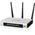 ROUTER TP-LINK TL-WR1043ND 300M 802.11 n/g/b ACCESS POINT SWITCH 4P GIGABIT 1P USBᄌ 3 ANTENNE STACCABILI (no modem)