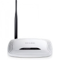 ROUTER TP-LINK TL-WR741ND 150M LITE N 802.11 n/g/b ACCESS POINT SWITCH 4P 10/100Mᄌ 1 ANTENNA STACCABILE (necessita di modem)